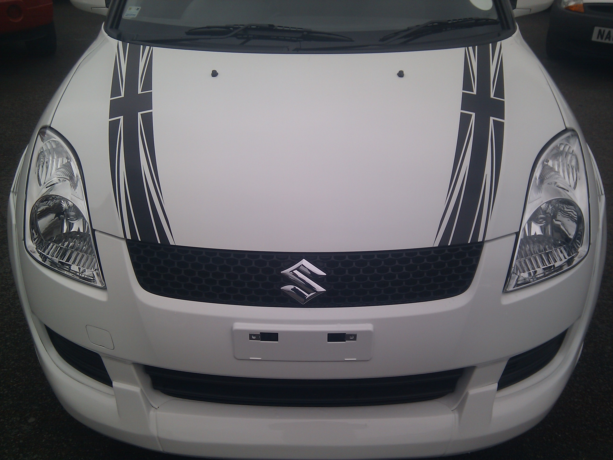 Graphic Direct Blog - Graphics for car bonnets