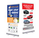 Roll-Up Banner Stand Fully Printed ONLY £89!